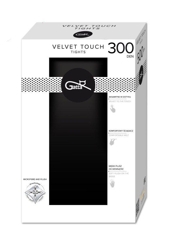 Rajstopy Gatta Velvet Touch 300 den