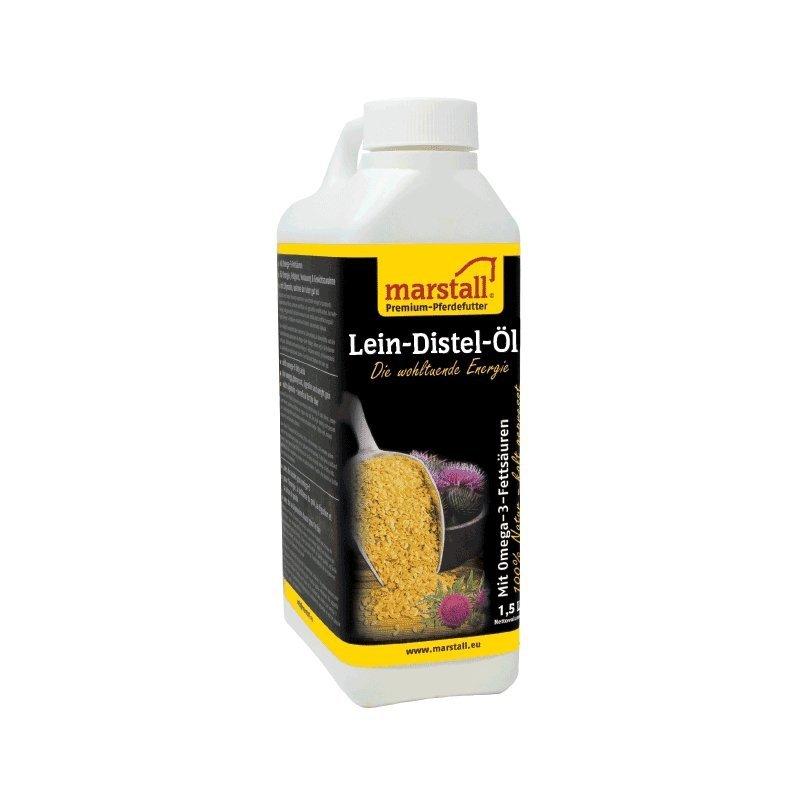 LEIN-DISTEL-ÖL olej lniano-osetowy1,5L Marstall