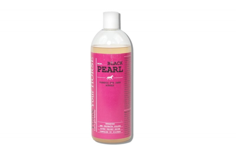 SHAMPOO FOR DARK HORSES – WOW... BLACK PEARL 1000 ml  You&Your Horse