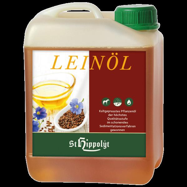 Olej lniany Leinol 2.5 l  St. Hippolyt
