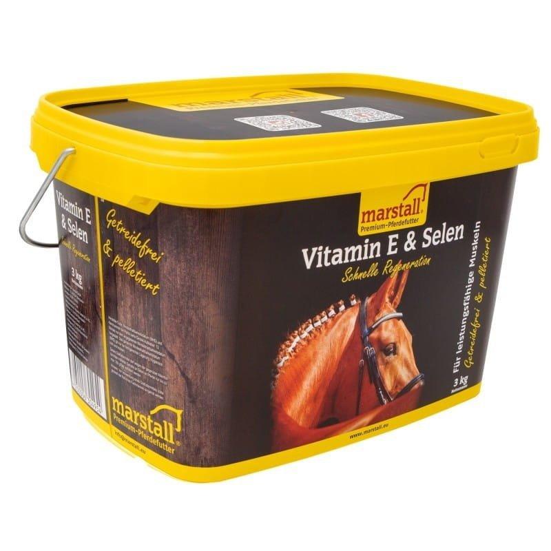 VITAMIN E & SELEN 3kg Marstall