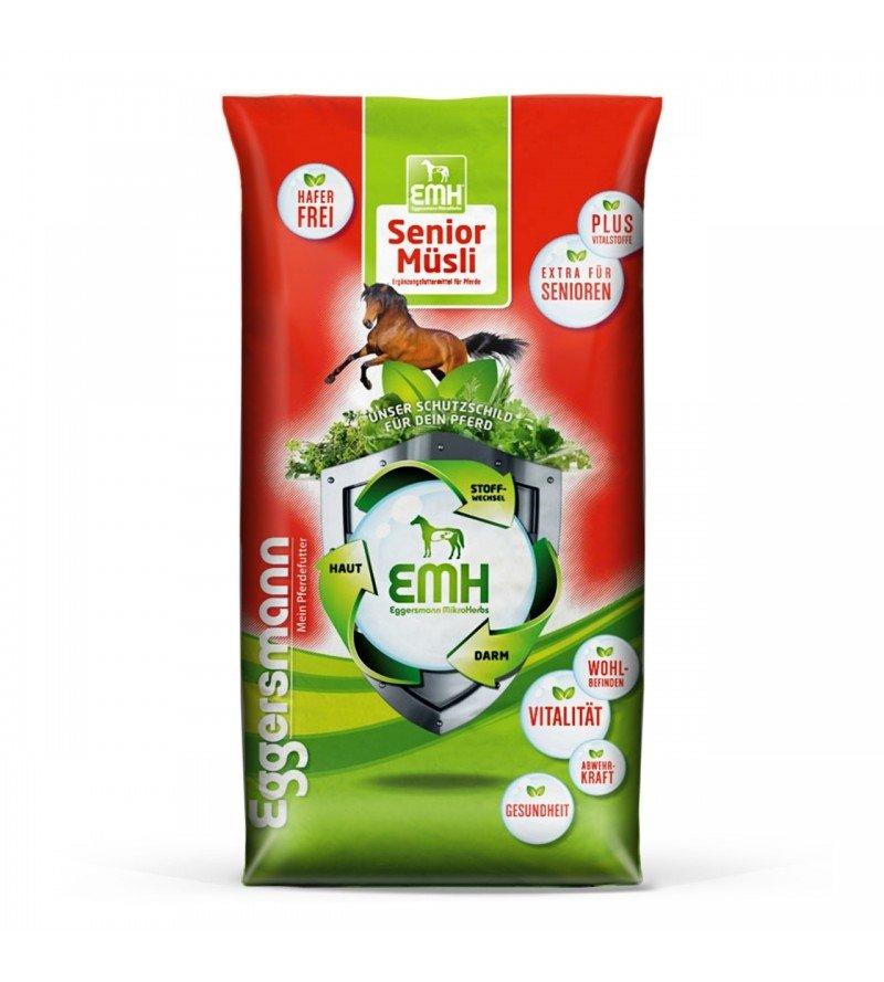 EMH Senior Musli- musli dla koni starszych mających problemy z uzębieniem 20 kg  Eggersmann