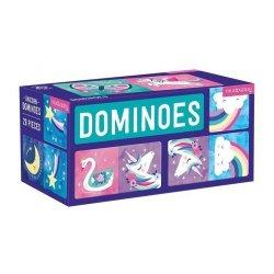 Gra Domino Magiczne jednorożce 28 elementów