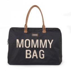 Torba Mommy Bag, Czarno-Złota