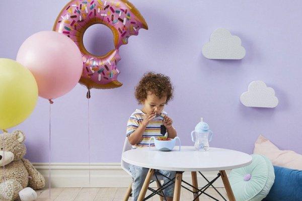 Pierwsze sztućce dla niemowląt, Gelato Pistachio, 9m+