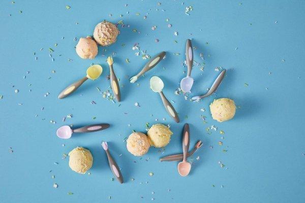 Pierwsze sztućce dla niemowląt, Gelato Tutti Frutti, 9m+