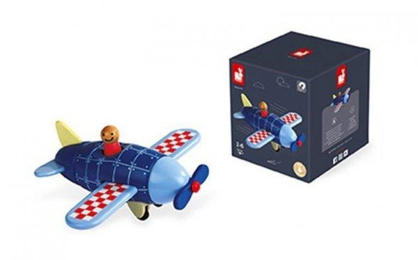 Samolot drewniany magnetyczny