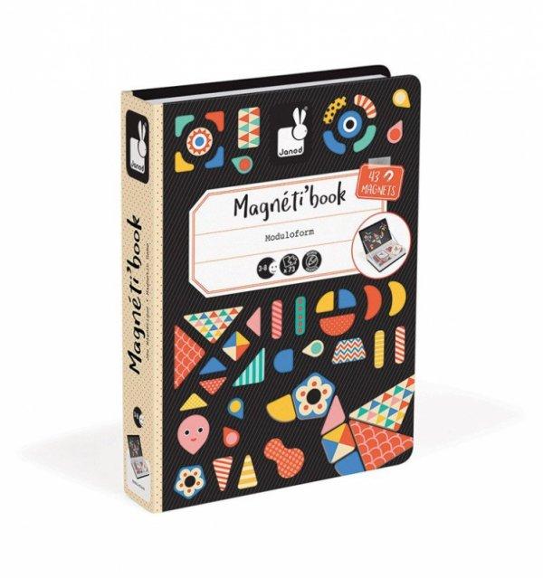 Magnetyczna układanka Kształty Magnetibook