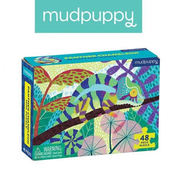 Puzzle mini Kameleon lamparci 48 elementów