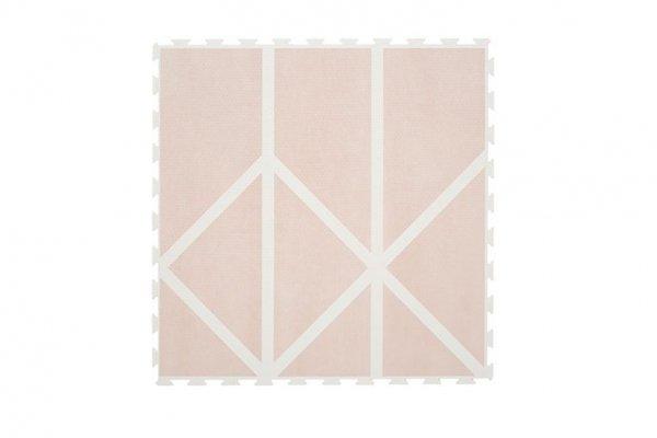 Mata do zabawy piankowa podłogowa Prettier Playmat Nordic Vintage Nude Pink