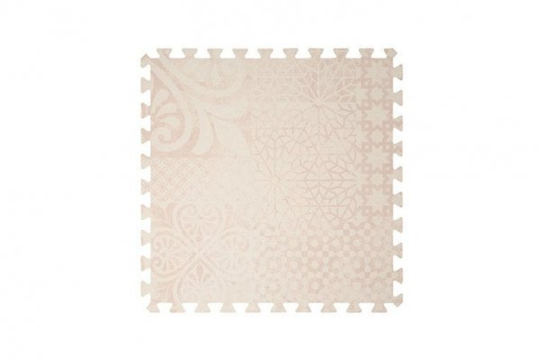 Mata do zabawy piankowa podłogowa Prettier Playmat Persian Blossom Light Pink