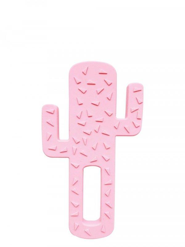 Gryzak silikonowy Kaktus różowy