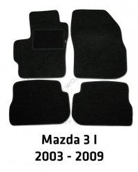 Dywaniki welurowe Mazda 3