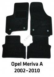 Dywaniki welurowe Opel Meriva