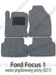 Dywaniki welurowe Ford Focus
