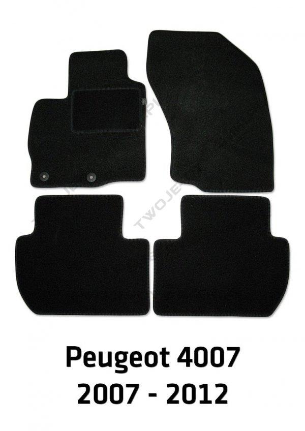 Dywaniki welurowe Peugeot 4007