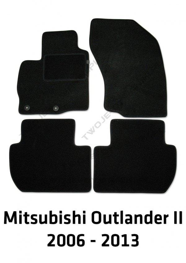 Dywaniki welurowe Mitsubishi Outlander