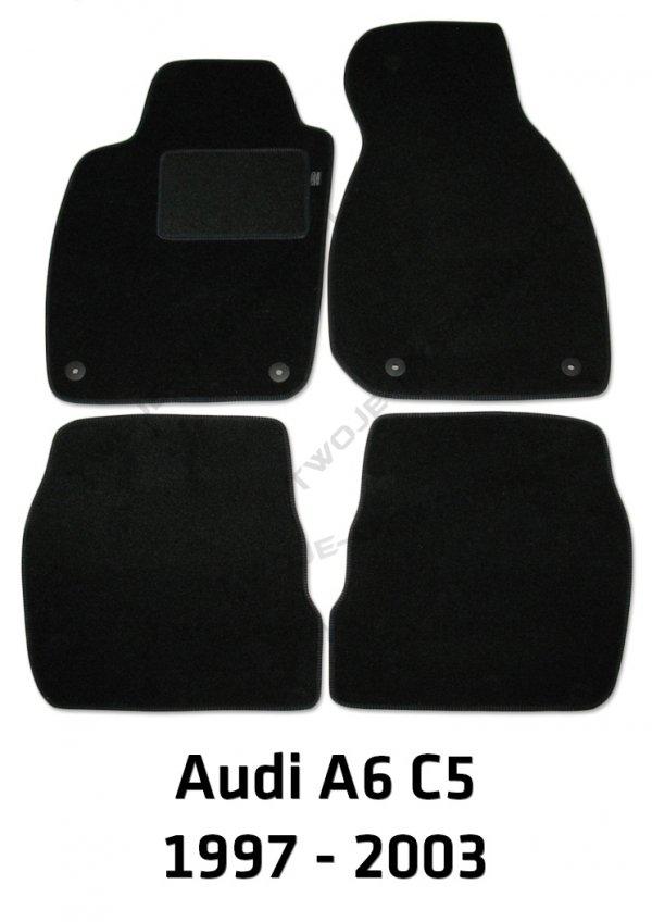 Dywaniki welurowe Audi A6
