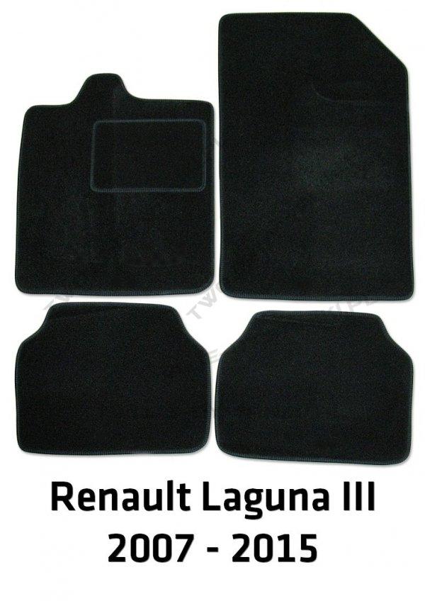 Dywaniki welurowe Renault Laguna