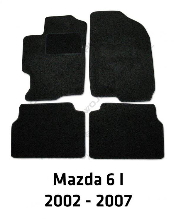 Dywaniki welurowe Mazda 6