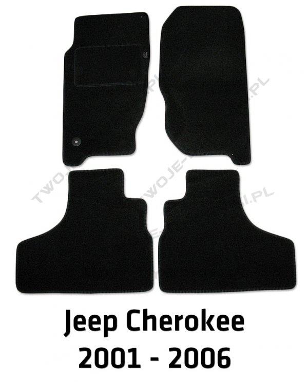 Dywaniki welurowe Jeep Cherokee
