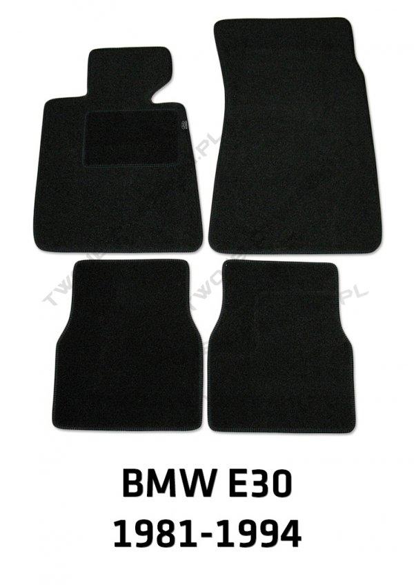Dywaniki welurowe BMW e30 3 Series