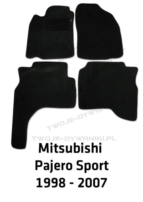 Dywaniki welurowe Mitsubishi Pajero