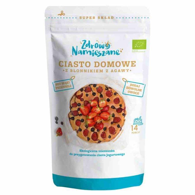 Ciasto Domowe z błonnikiem z agawy Zdrowo Namieszane BIO, 300g