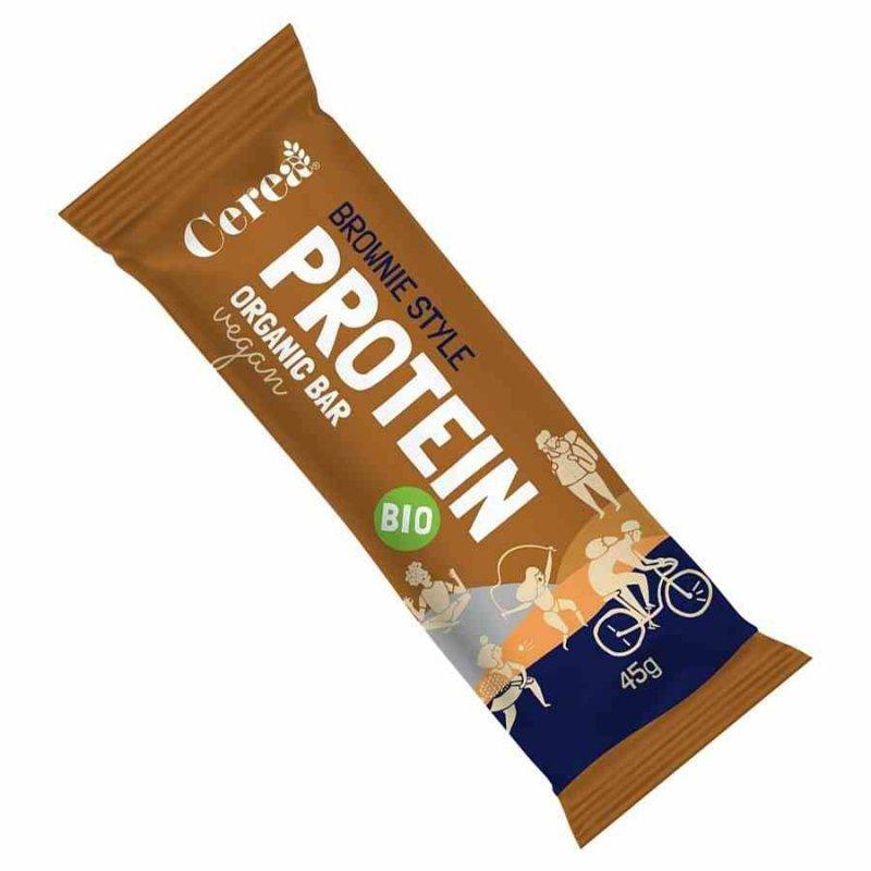 Baton proteinowy - Brownie Cerea BIO, 45g