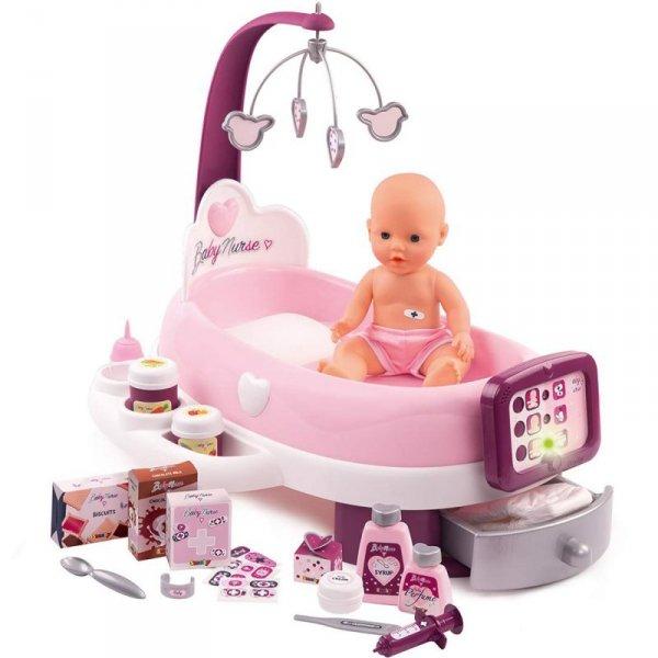Smoby Elektroniczna Opiekunka Baby Nurse Dla Lalki