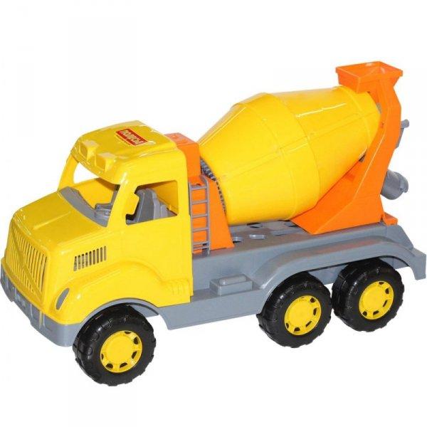 Wader QT Ogromna Ciężarówka Betoniarka Samochód 59cm