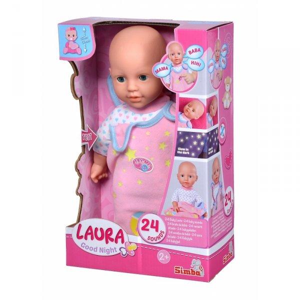 SIMBA Lalka Laura z Melodią 24 Dźwięki 30 cm