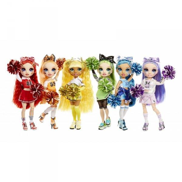 Rainbow High Cheer Doll - Lalka Cheerleaderka Violet Willow