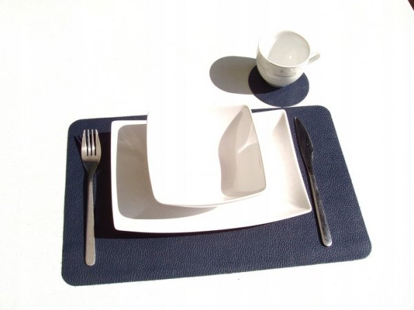 Podkładka pod talerz i kubek (skóra)