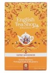 English Tea Shop, Herbata Green Rooibos, Pomegranate & Blueberry, 20 saszetek