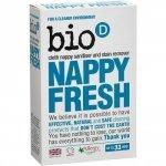 Bio-D, Nappy Fresh, dodatek do prania pieluch, 500g