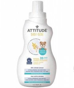 Attitude, Sensitive Skin Baby, Delikatny płyn do prania tkanin dziecięcych, 35 prań, 1L