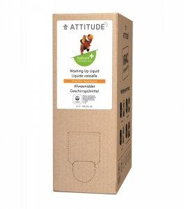 Attitude, Płyn do mycia naczyń, Skórka Cytrynowa (Citrus Zest), 4L, 160 prań