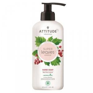 Attitude, Super Leaves, Mydło do rąk, Czerwone liście winogron, 473ml