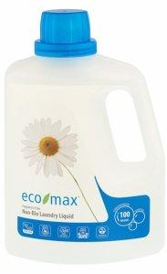 Eco-Max, Płyn do prania, bezzapachowy, 100 prań, 3L