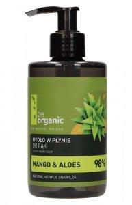 Be Organic, Mydło w płynie do rąk, mango i aloes, 250ml