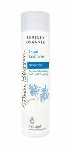 Bentley Organic, Skin Blossom, Bezalkoholowy tonik organiczny, 150ml
