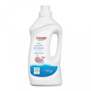 Friendly Organic, Płyn do prania ubranek dziecięcych Bezzapachowy 1L, 20 prań