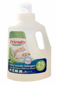 Friendly Organic, Płyn do prania ubranek dziecięcych Bezzapachowy, 739 ml, 25 prań