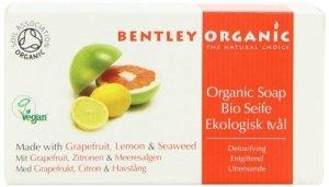 Bentley Organic, DETOKSYKUJĄCE Mydło z Grejpfrutem, Cytryną i Wodorostami, 150 g
