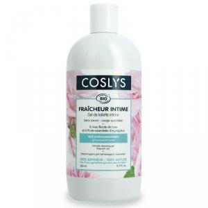Coslys, Żel do higieny intymnej z wodą różaną, 500ml