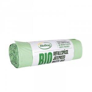 Worki 35L 100% biodegradowalne i kompostowalne rolka 20 sztuk