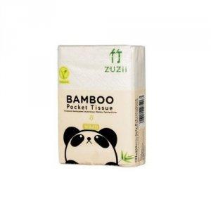 Chusteczki higieniczne kieszonkowe bambusowe 3-warstwy 8-opakowań