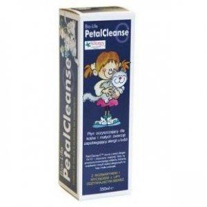 PETAL CLEANSE Płyn oczyszczający dla kotów i małych zwierząt zapobiegający alergii u ludzi 350ml