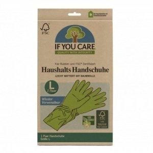 Wielorazowe rękawiczki lateksowe FAIR RUBBER 1 Para Rozmiar L
